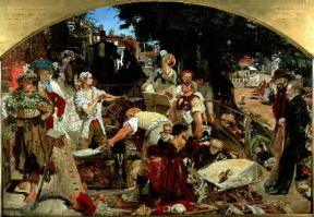 Ford Madox Brown. Il lavoro (Manchester, City Art Gallery).De Agostini Picture Library