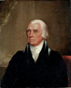 James Madison in un ritratto di J. Trumbull (Washington, National Portrait Gallery).Washington, National Portrait Gallery