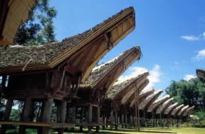 Asia. Villaggio Toraja in Indonesia.De Agostini Picture Library
