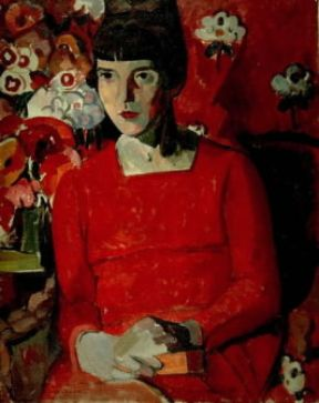 Katherine Mansfield in un ritratto di Anne Estelle Rice (Wellington, National Gallery).Wellington, National Gallery
