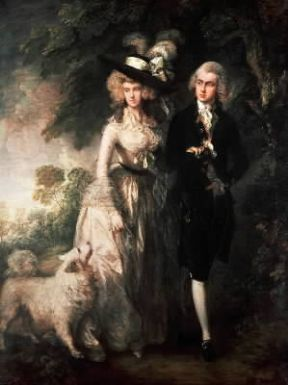 Thomas Gainsborough. La passeggiata mattutina (Londra, National Gallery).Londra, National Gallery