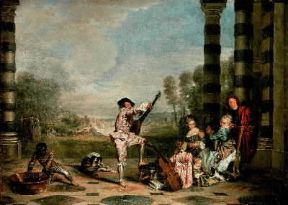 Rococò. Gli incanti della vita di A. Watteau (Londra, Wallace Collection).Londra, Wallace Collection