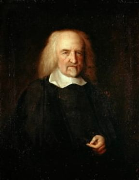 Thomas Hobbes in un ritratto di J.M. Wright (Londra, National Portrait Gallery).Londra, National Portrait Gallery