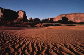 America. Veduta della Monument Valley in Arizona.De Agostini Picture Library/G. Sioen