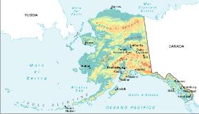 Usa Cartina Politica Con Capitali.Alaska Sapere It