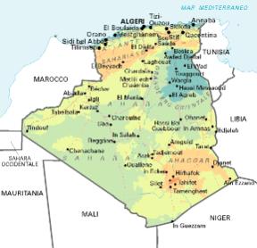 Cartina Stradale Marocco Gratis.Algeria Sapere It