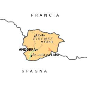 Cartina Rilievi Spagna.Andorra Sapere It