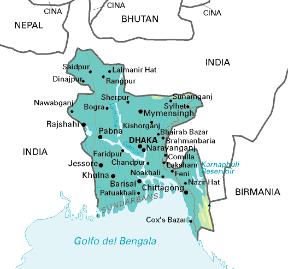Cartina Dell India Del Nord.Bangladesh Sapere It
