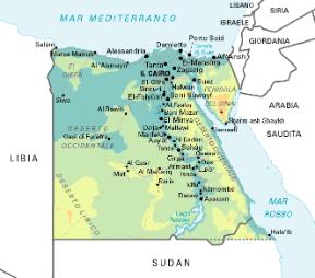 Cartina Egitto In Italiano.Egitto Stato Sapere It