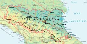 Cartina Emilia Romagna E Lombardia.Emilia Romagna Sapere It