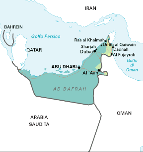 Dubai Sulla Cartina Geografica.Emirati Arabi Uniti Sapere It