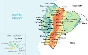 Cartina Fisica America Latina.Ecuador O Equador Sapere It