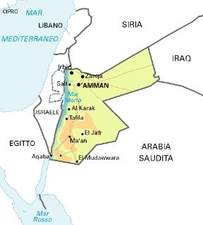 Cartina Di Israele E Giordania.Giordania Sapere It