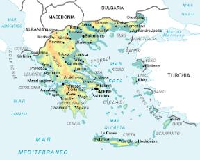 Cartina Geografica Dell Isola Di Creta.Grecia Stato Sapere It