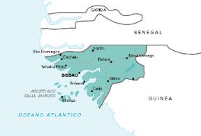 Guinea Cartina Geografica.Guinea Bissau Sapere It