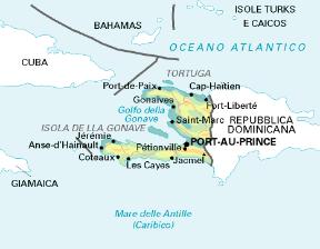Cartina Geografica Haiti.Haiti Sapere It
