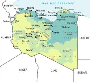 Libia Italia Cartina.Libia Sapere It