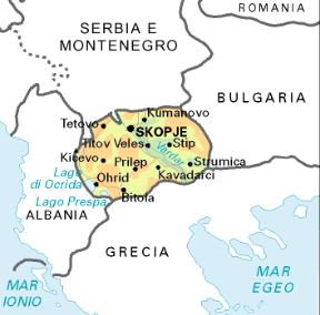 Cartina Geografica Fisica Della Romania.Macedonia Stato Sapere It