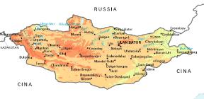 Cartina Geografica Della Mongolia.Mongolia Sapere It