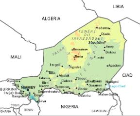 Cartina Geografica Dell Africa Fisica.Niger Stato Dell Africa Sapere It