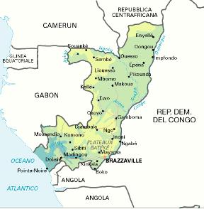 Cartina Politica Africa In Italiano.Congo Repubblica Del Sapere It