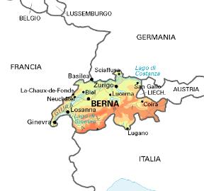 Confine Svizzera Italia Cartina.Svizzera Sapere It