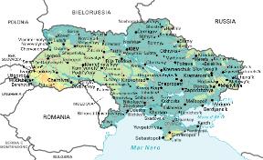 Cartina Politica Russia In Italiano.Ucraina Sapere It