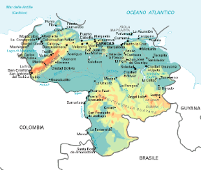 Cartina Tematica Spagna.Venezuela Sapere It