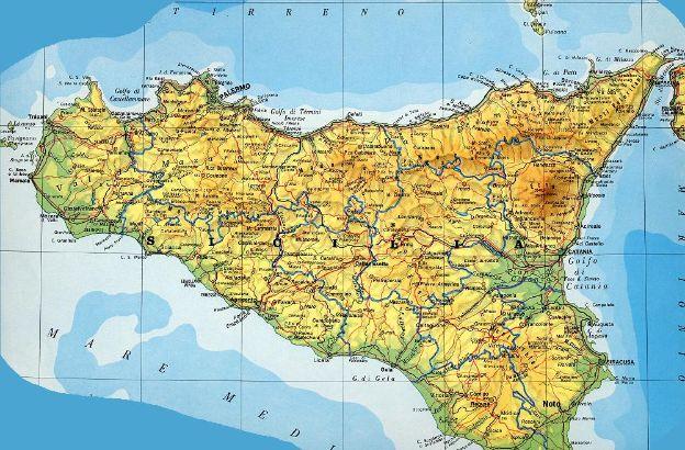 Cartina Della Sicilia Con Le Isole.Qual E L Isola Piu Grande Del Mar Mediterraneo Sapere It